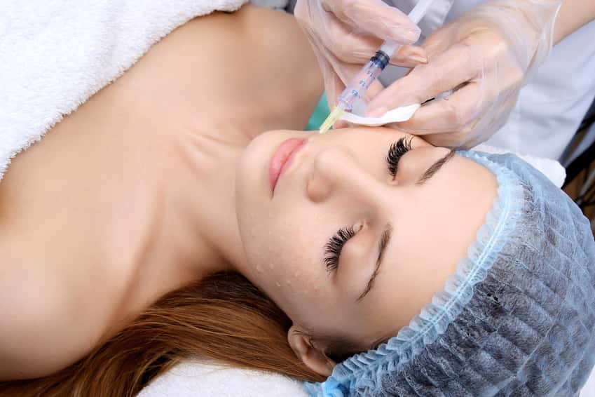 Mesotherapie Gesicht