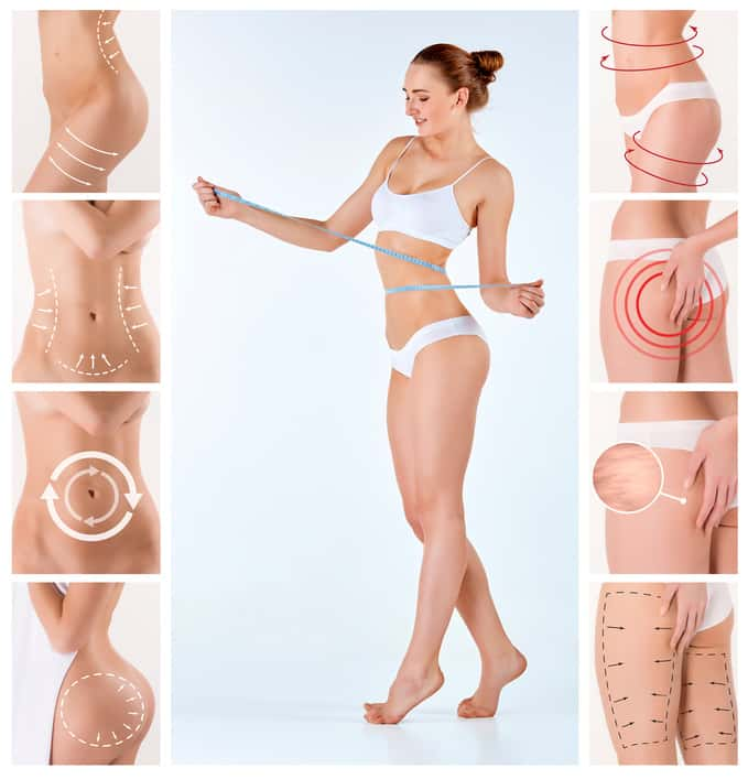 Fett-Weg-Spritze zur Körpermodulation